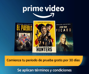 Banner Amazon Prime Video Gratis