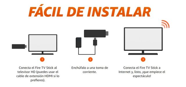 Como instalar Amazon Fire TV Stick