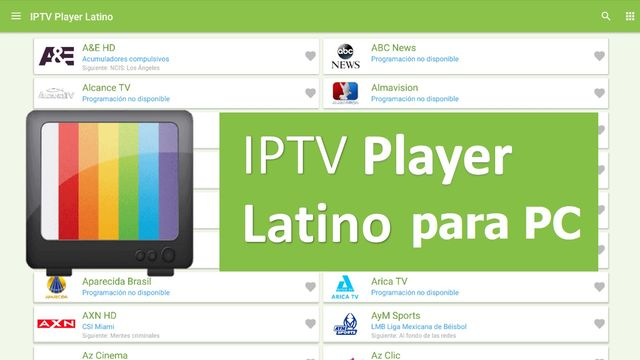 Descargar IPTV Player Latino para PC gratis