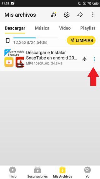 Descargar Snaptube para Android Gratis 7