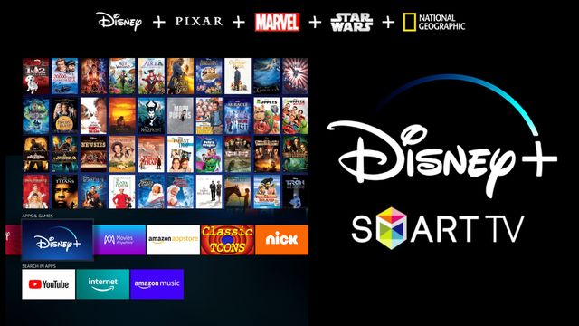 Descargar Disney Plus para Smart TV
