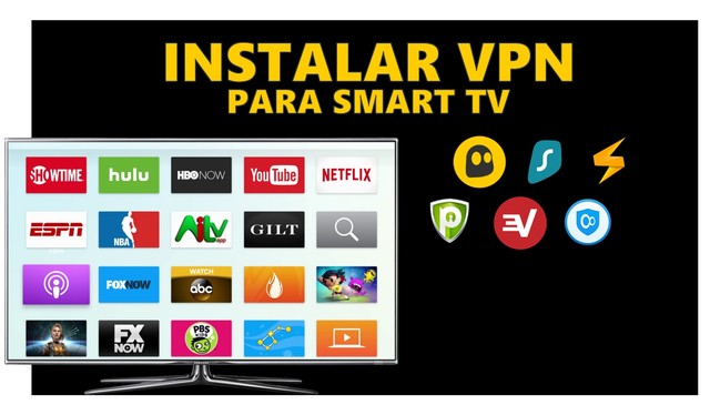 Instalar VPN para Smart TV (Android TV)